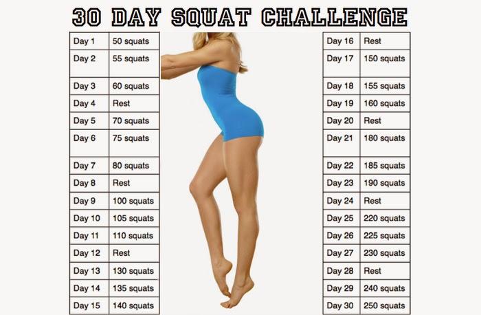FABULOUSLY PINK: 30 Day squat challenge